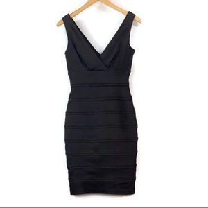 Calvin Klein Sleeveless V-Neck Cocktail Dress